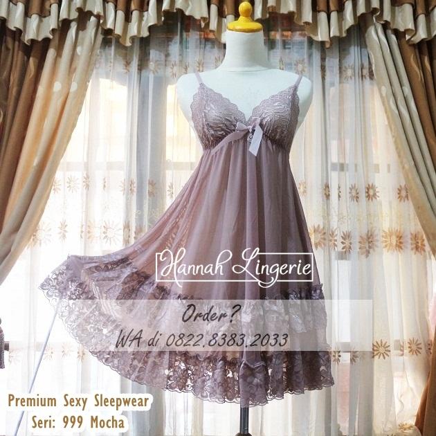 Premium Sexy Sleepwear Seri 999 Mocha