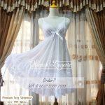 Premium Sexy Sleepwear Seri 999 White